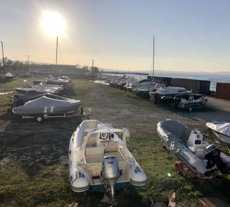 stationnement bateaux sur remorque Marignane